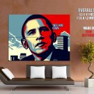 Shepard Fairey Barack Obama Yes We Can Art Huge Giant Print Poster