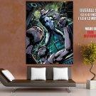 The Punisher Rain Baseball Bat Marvel Comics Art Huge Giant Print Poster