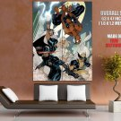 Marvel Comics X Men Spider Man Art Huge Giant Print Poster