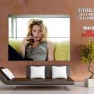 Amber Heard Beautiful Hot Actress Huge Giant Print Poster