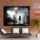 The Exorcist Classic Horror Movie Bw Huge Giant Print Poster