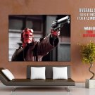 Hellboy Ron Perlman Revolver Movie Art Huge Giant Print Poster