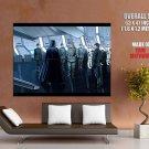Darth Vader Stormtroopers Star Wars Vector Art Sci Fi Huge Giant Print Poster