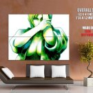 Parasite Eve Drawing Art Green Girl Video Game Huge Giant Print Poster