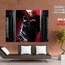 Dante Pistol Devil May Cry Art Video Game Huge Giant Print Poster