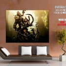 Predator Without Mask Alien Marine Art Video Game Huge Giant Print Poster