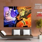 Naruto Demon Cloak Anime Manga Art Huge Giant Print Poster