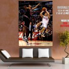 Blake Griffin Fade Away Jumper Los Angeles Clippers Nba Huge Giant Poster