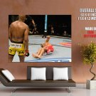 Anderson Silva Vs Patrick Cote Spider Mma Mixed Martial Arts Huge Giant Poster