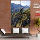 Brammo Engage Jump Sport Bike Motorcycle Huge Giant Poster