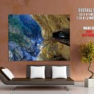 Tunnel Of Nine Turns Taroko Gorge Taiwan Around The World Huge Giant Poster