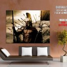 King Leonidas 300 Gerard Butler Movie Huge Giant Poster