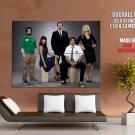 Chuck Zachary Levi Yvonne Strahovski Adam Baldwin Tv Huge Giant Poster