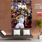 Dirk Nowitzki Winning Layup Dallas Miami Finals Nba Huge Giant Poster