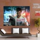 Miami Killer Dexter Morgan Michael Carlyle Hall Huge Giant Poster