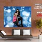 Alicia Keys Hip Hop R B Music Huge Giant Print Poster