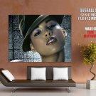 Alicia Keys Hot Portrait R B Music Huge Giant Print Poster