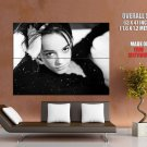 Alizee Hot French Singer Bw Music Huge Giant Print Poster