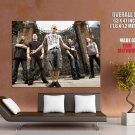 All That Remains Metalcore Rock Music Huge Giant Print Poster