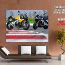 Aprilia Tuono V4 R Super Sport Bike Huge Giant Print Poster
