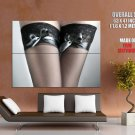 Hot Legs Close Up Sexy Stocking Huge Giant Print Poster