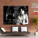 Audrey Tautou Hot Actress Bw Huge Giant Print Poster