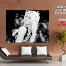 Alyson Michalka Hot Blonde Bw Huge Giant Print Poster