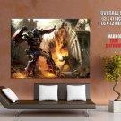 Transformers Optimus Prime Art City Fight Huge Giant Print Poster