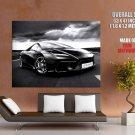 Lotus Esprit Black Supercar Huge Giant Print Poster