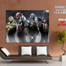 Teenage Mutant Ninja Turtles Fantasy Art Huge Giant Print Poster