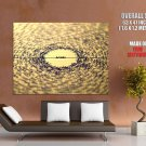 Love Focus Hate Text Notebook Mood Huge Giant Print Poster