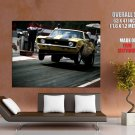 Chevrolet Camaro Ss Wheelie Muscle Car Huge Giant Print Poster