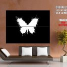 Butterfly Rorschach Test Abstraction HUGE GIANT Print Poster