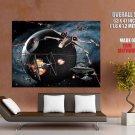 Death Star X Wing Tie Star Wars Huge Giant Print Poster