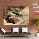Off Road Rally Cars Dirt Desert Huge Giant Print Poster