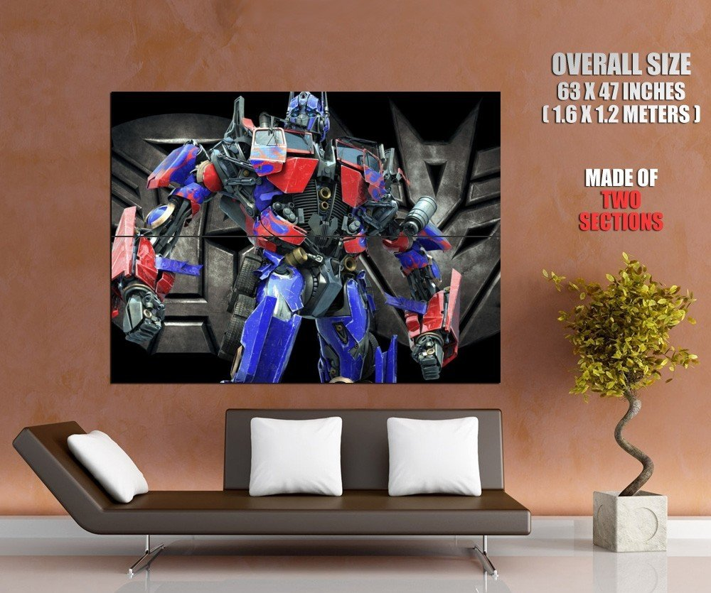 Optimus Prime Transformers Movie Huge Giant Print Poster