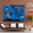 Adonal Foyle Shot Orlando Magic Nba Huge Giant Print Poster