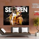 Los Angeles Lakers 2010 Champions NBA HUGE GIANT Print Poster