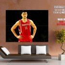 Yao Ming Houston Rockets Nba Huge Giant Print Poster