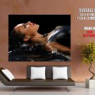 Alicia Keys Hot Sexy Wet Music Huge Giant Print Poster