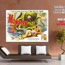Monster From Ocean Floor Anne Kimbell Huge Giant Print Poster