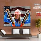 Julia Mancuso Sport Skier Olympic Hampion Huge Giant Print Poster
