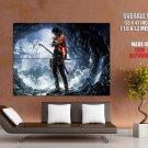 Adventure Game Action Rpg Lara Croft Huge Giant Print Poster
