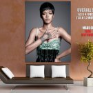 Rihanna Singer Raggae R N B Music Huge Giant Print Poster
