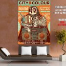 City And Colour Rock The Shores HUGE GIANT Print POSTER
