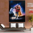 Adventure Fantasy Movie Back To The Future Huge Giant Print Poster