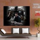 Real Steel Hugh Jackman Movie Huge Giant Print Poster