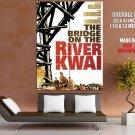 Bridge On The River Kwai Retro Movie Vintage HUGE GIANT Print Poster