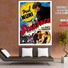 Scarface 1932 Retro Movie Vintage HUGE GIANT Print Poster