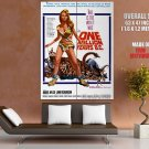 One Million Years BC Retro Movie Vintage HUGE GIANT Print Poster